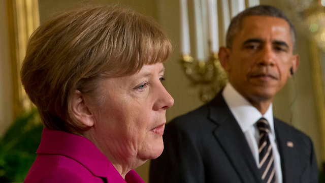Merkel and Obama (Photo: Associated Press)
