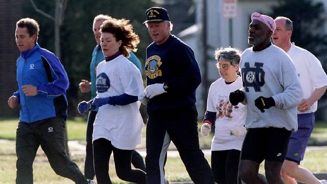 ריצת בוקר, 1995 (צילום: רויטרס) (צילום: רויטרס)