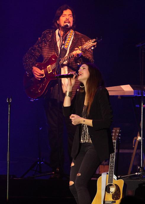 מארינה מקסימליאן בלומין איז אין דה האוס (צילום: עידו ארז) (צילום: עידו ארז)