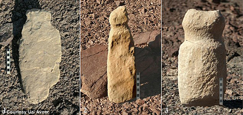 Phallic stones found in Arava region
