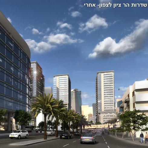 (הדמיה: משרד קייזר אדריכלים ומתכנני ערים) (הדמיה: משרד קייזר אדריכלים ומתכנני ערים)