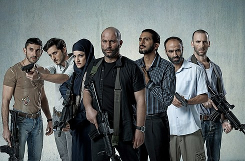 The cast pf Fauda (Photo: Ohad Romano)