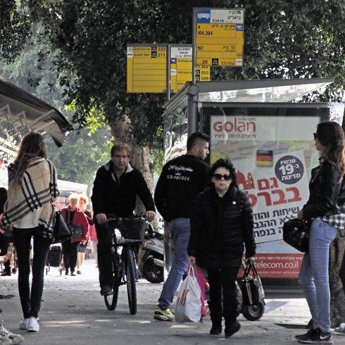 אלנבי, הרחוב הכי פופולרי בעיר ללא הפסקה (צילום: ריאן)