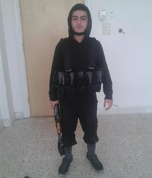 מוחמד סעיד מוסלם בסוריה, לכאורה בשורות דאעש  ()