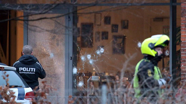Shots fired at Danish cafe (Photo: AFP)