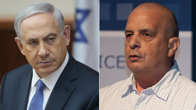 Netanyahu and Diskin (Photo: AP, Alex Kolomoisky) (Photos: Alex Kolomoisky, AP)
