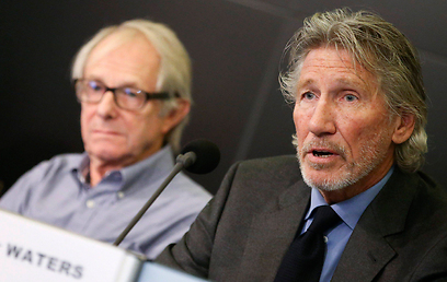 Ken Loach (L) and Roger Waters (Photo: EPA)