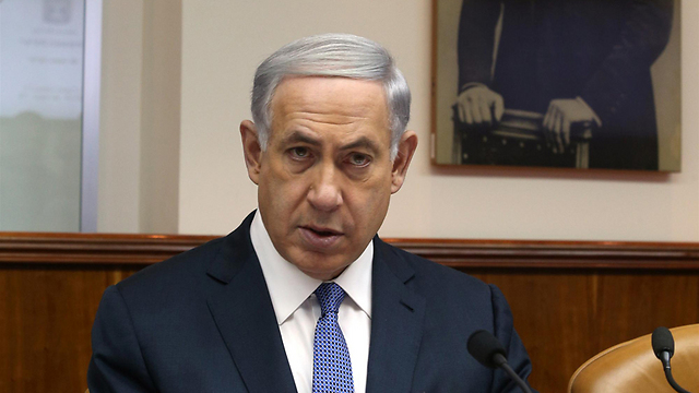 A frightened prime minister threatening our joint existence (Photo: Amit Shabi)