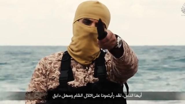 English-speaking jihadist addresses West in video