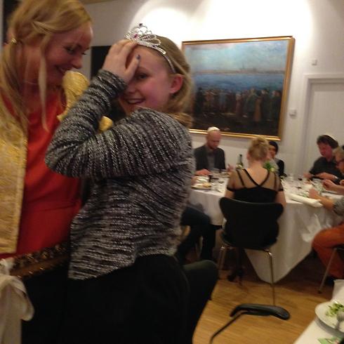 Hanna Bentow was celebrating her Bat Mitzvah at Copenhagen Synagogue during attack.