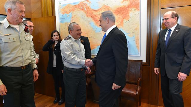 (צילום: אריאל חרמוני, משרד הביטחון) (צילום: אריאל חרמוני, משרד הביטחון)
