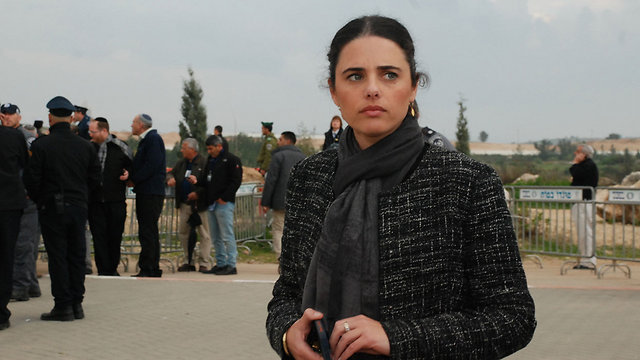 Shaked has been accsed of inciting violence against Arabs by way of her right-wing views displayed on Facebook. (Photo: Bar'el Ephraim) (Photo: Bar'el Ephraim)