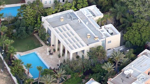 """בית נתניהו בקיסריה (צילום: שאול גולן """"ידיעות אחרונות"""") (צילום: שאול גולן"""