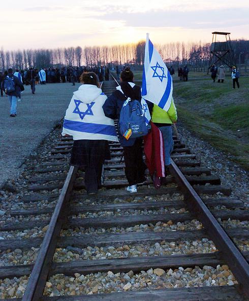 """""""המסע למחנות ההשמדה נפגע באופן מהותי""""  (צילום: חיים הורנשטיין)"""