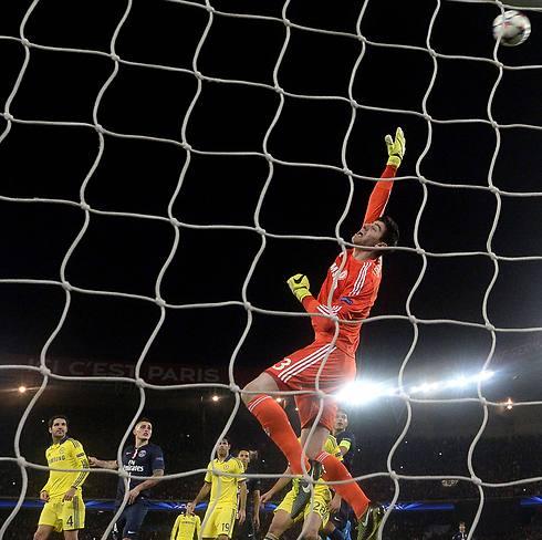 טיבו קורטואה. גיבור הערב (צילום: AFP) (צילום: AFP)