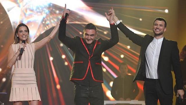 Nadav Guedj at the 'Rising Star' finale (Photo: Ortal Dahan)