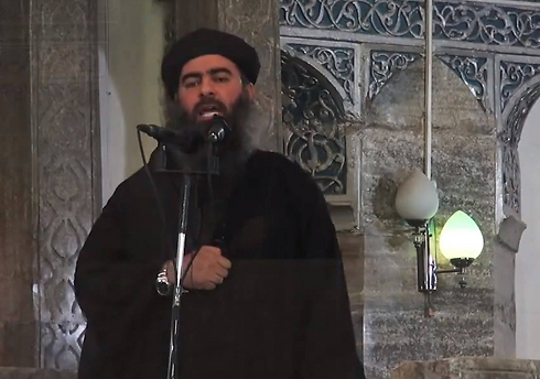 ISIS leader al-Baghdadi. An ability to operate through satellite organizations not only in Iraq but also in Syria, Lebanon, Africa and now in Sinai (Photo: MCT) (Photo: MCT)