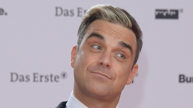Robbie Williams on the red carpet (Photo: gettyimages)