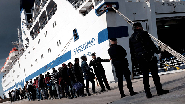 Migrants and asylum seekers on Italy's shores (Photo: AFP)