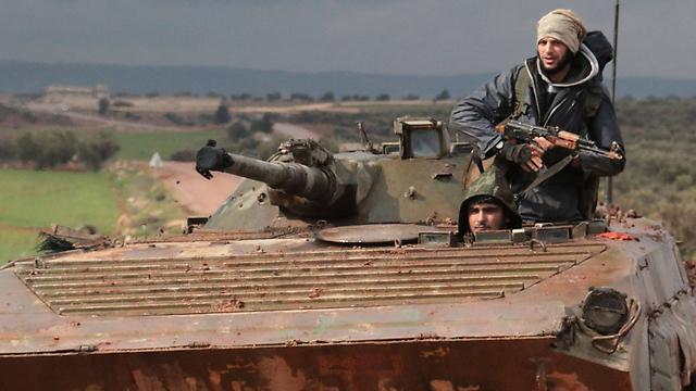 Rebels in Aleppo (Photo: AFP) (Photo: AFP)