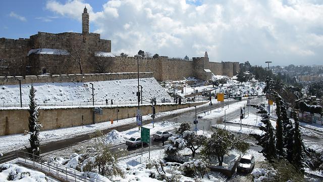 עיר דוד בלבן (צילום: מיכאל לטר) (צילום: מיכאל לטר)