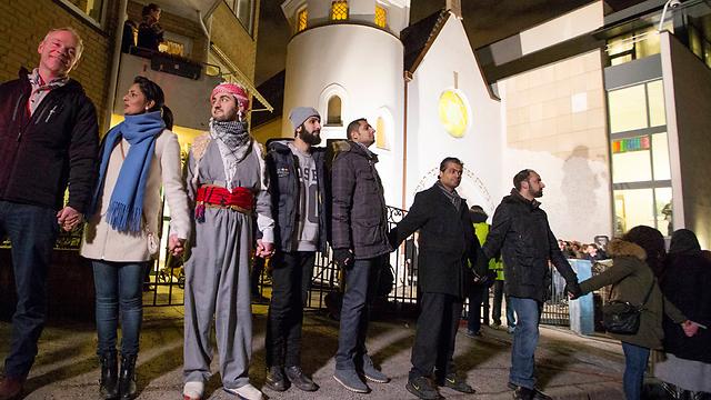 נגד אנטישמיות ואיסלאמופוביה  (צילום: AP) (צילום: AP)