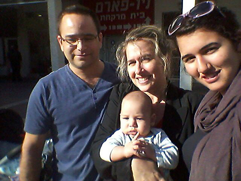 Shay Cohen with his family