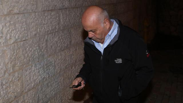 עזרא סיידוף, אמש. נאסר עליו לעסוק בכספים (צילום: גיל יוחנן) (צילום: גיל יוחנן)