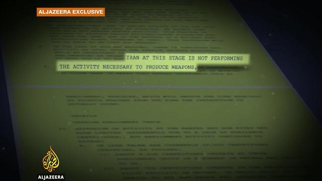 Screenshot from report