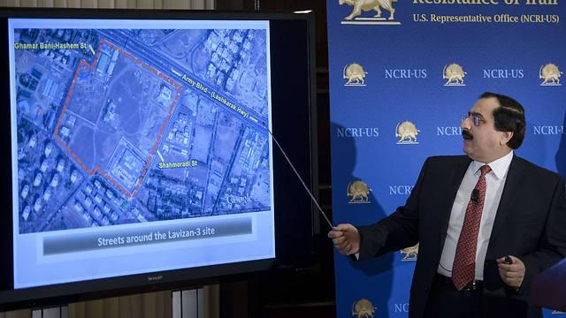 מתקן להעשרת אורניום באיראן. השיחות יימשכו ב-15 במארס (צילום: AFP) (צילום: AFP)