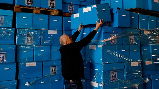 Elecion ballots unpacked. (EPA)