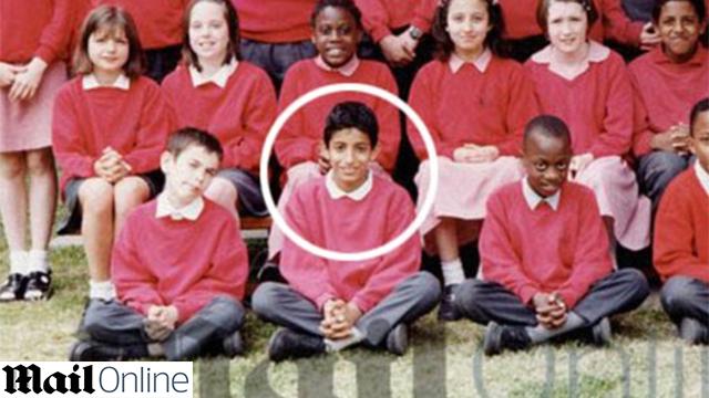 Mohammed Emwazi as a child