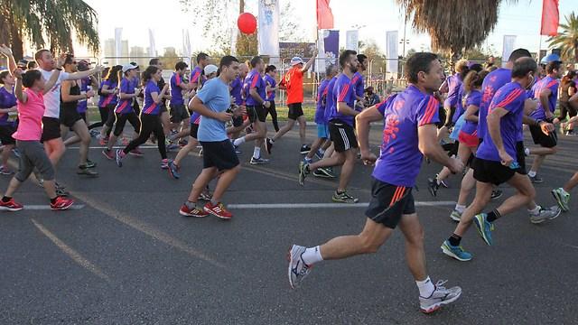 מרתון תל אביב. מספר המשתתפים גדל בהתמדה (צילום: עידו ארז) (צילום: עידו ארז)