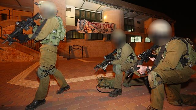 """חיילי צה""""ל בתרגיל (צילום: גיל יוחנן) (צילום: גיל יוחנן)"""