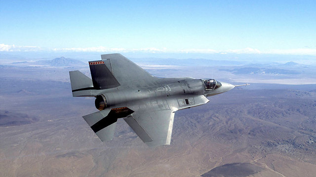 F-35 stealth fighter jet, a possible price for Israeli silence on Iran (Photo: AP)