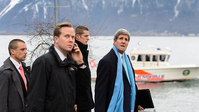 John Kerry in Geneva during nuclear talks with Iran. (Photo: EPA) (Photo: EPA)