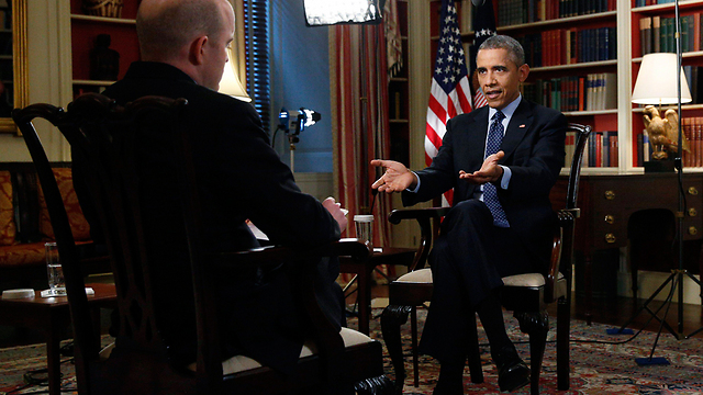 """אובמה. """"נתניהו כבר הזהיר פעם"""" (צילום: רויטרס) (צילום: רויטרס)"""