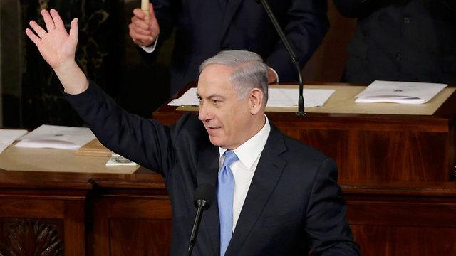 Netanyahu in Congress (Photo: Reuters) (Photo: Reuters)