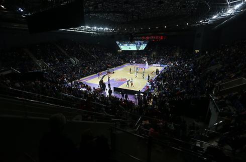אולם חדש לכדורסל הישראלי. חגיגת האולסטאר בחולון  (צילום: אורן אהרוני ) (צילום: אורן אהרוני )