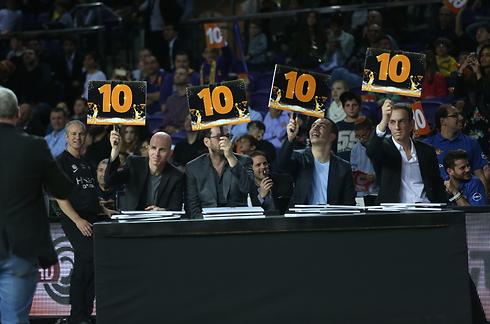 מושלם. השופטים מתפעלים מליונס (צילום: אורן אהרוני ) (צילום: אורן אהרוני )