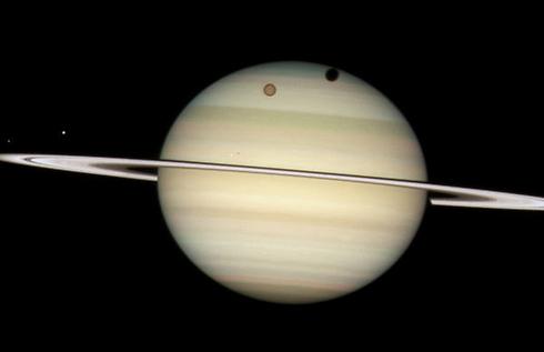 """תמונה של כוכב הלכת שבתאי, שצילם הטלסקופ האבל (צילום: נאס""""א) (צילום: נאס"""