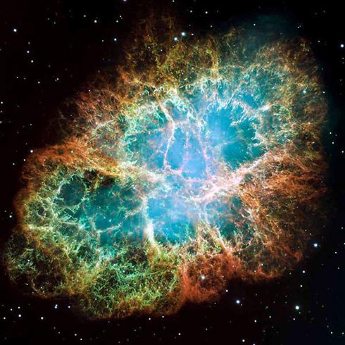 """לפני 14 מיליארד שנה התרחש המפץ הגדול ונוצר היקום. ערפילית הסרטן (צילום: נאס""""א)"""