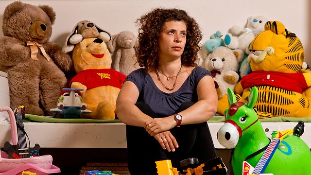 אלמנת דולב קידר, מיכל קסטן קידר (צילום: יובל חן) (צילום: יובל חן)