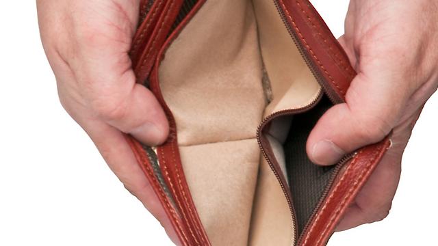 נגמר הכסף (צילום: Shutterstock) (צילום: Shutterstock)