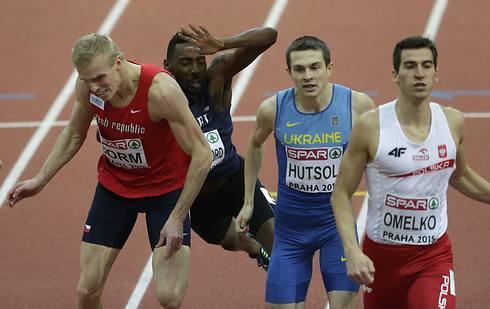סנפורד באליפות אירופה באולם (צילום: AP)