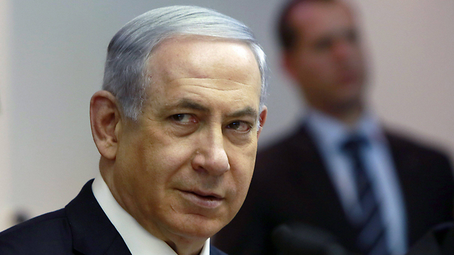 Netanyahu. In the past, he spoke about the leftists who 'have forgotten what it means to be Jewish.' Now he puts laborers in the same group as Hamas members (Photo: EPA) (Photo: EPA)