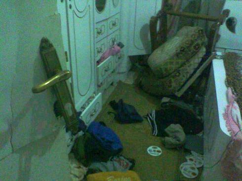 Home of Hamas member after arrest