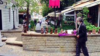 רחוב סקאדארליה - האזור הבוהמי של בלגרד (צילום: שי דזה)