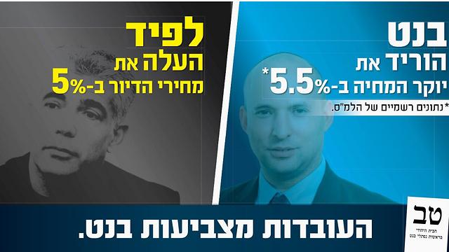 בבית היהודי יתמקדו בשבוע האחרון בקמפיין נגד לפיד ()