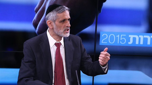 Yachad leader Eli Yishai (Photo: Ofer Amram)